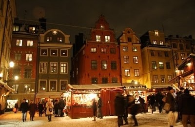 CHRISTMAS TIME IN GAMLA STAN